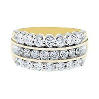 2 ct. tw. Diamond Band in 10K Yellow Gold