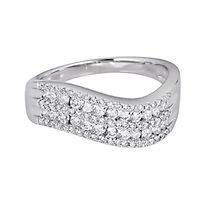 5/8 ct. tw. Diamond Ring in 10K White Gold