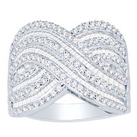 1 1/2 ct. tw. Diamond Ring in 10K White Gold