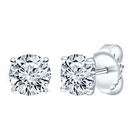 3 ct. tw. ALTR™ Created Diamond Stud Earrings in 14K White Gold
