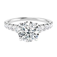Helzberg Diamond Masterpiece® 1 1/7 ct. tw. Diamond Engagement Ring in 18K White Gold