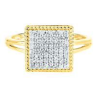 1/4 ct. tw. Diamond Ring in 10K Yellow Gold