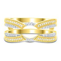 1/4 ct. tw. Diamond Ring Enhancer in 10K Yellow Gold