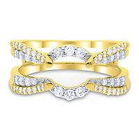 1/2 ct. tw. Diamond Ring Enhancer in 10K Yellow Gold