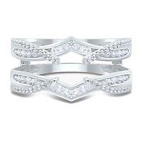 1/2 ct. tw. Diamond Ring Enhancer in 10K White Gold