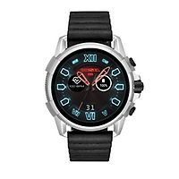 Diesel Black Leather Smartwatch
