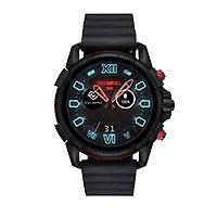 Diesel Black Silicone Smartwatch