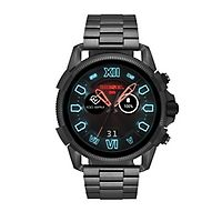 Diesel Gunmetal Steel Smartwatch