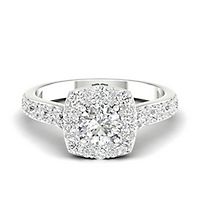 My Diamond Story® 1 1/2 ct. tw. Engagement Ring in 14K White Gold