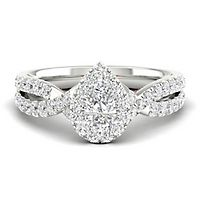 My Diamond Story® 1 ct. tw. Diamond Engagement Ring in 14K White Gold
