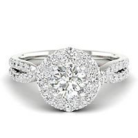My Diamond Story® 1 5/8 ct. tw. Diamond Engagement Ring in 14K White Gold
