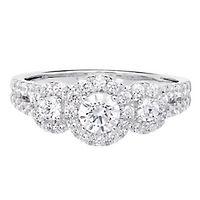 Light Heart™ 1 ct. tw. Lab Grown Diamond Ring in 14K White Gold