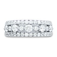 Light Heart™ 1 1/2 ct. tw. Lab Grown Diamond Band in 14K White Gold