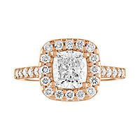 1 1/2 ct. tw. Diamond Engagement Ring in 14K Rose Gold