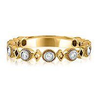 1/5 ct. tw. Diamond Ring in 10K Yellow Gold