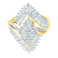 1 ct. tw. Diamond Ring in 10K Yellow Gold