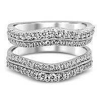 1 ct. tw. Diamond Ring Enhancer in 14K White Gold
