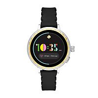 Kate Spade Black Silicone Ladies' Smartwatch 2