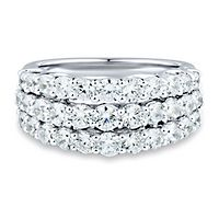 Light Heart™ 2 ct. tw. Lab Grown Diamond Band in 14K White Gold
