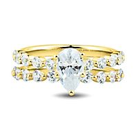 Light Heart™ 2 ct. tw. Lab Grown Diamond Engagement Ring Set in 14K Yellow Gold