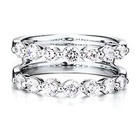 1 1/2 ct. tw. Diamond Ring Enhancer in 14K White Gold