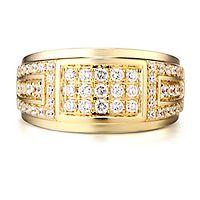 Men's 1 ct. tw. Diamond Ring in 10K Yellow Gold