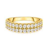 1 ct. tw. Diamond Band in 10K Yellow Gold